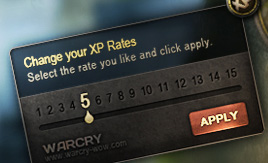 Warcry XP Rate Changer Addon